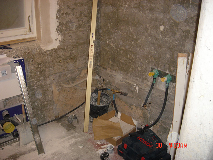 Umbauarbeiten
